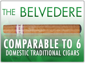 Smart Smoke E Cigar The Belvedere