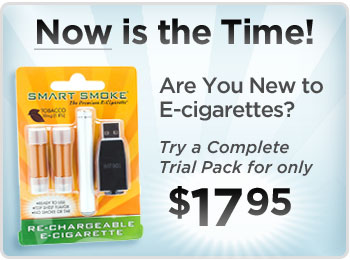 Smart Smoke E-Cig Trial Packs as stocking stuffers - only $14.95