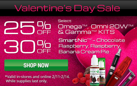 Smart Smoke Valentine's Day Sale