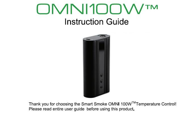 Omni100W User Guide